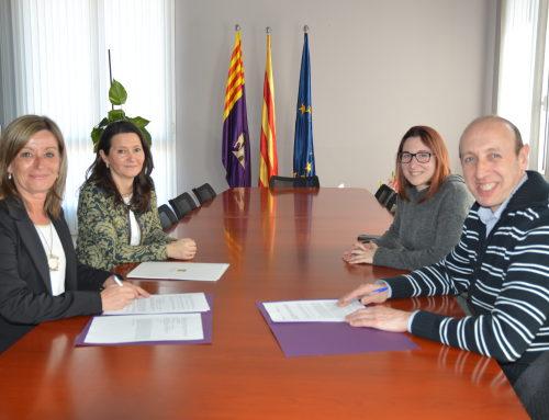 Signatura del Conveni amb l'Ajuntament de Castellbisbal
